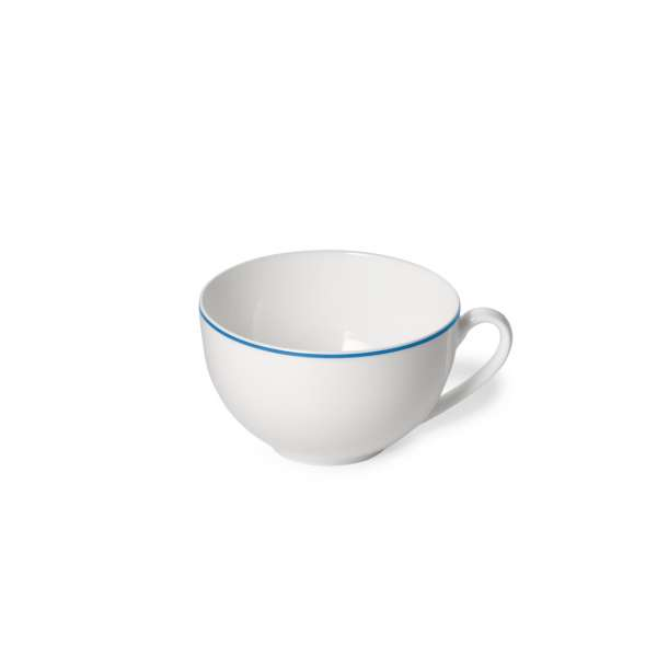Kaffee-Obere rund 0,25 l hellblau