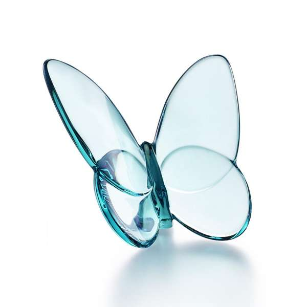 Schmetterling 6,5x8 cm türkis