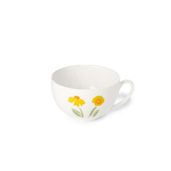 Kaffee-Obere rund 0,25 l gelb