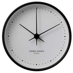 Uhr 22 cm schwarz/weiß