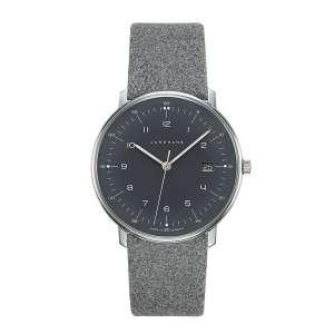 Armbanduhr Max Bill Quarz grau