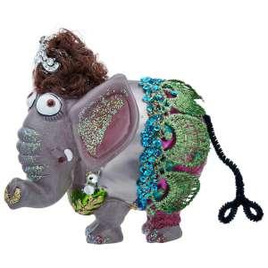 Hänger Elefantendame, bunt