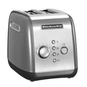 Toaster 2er kontur-silber