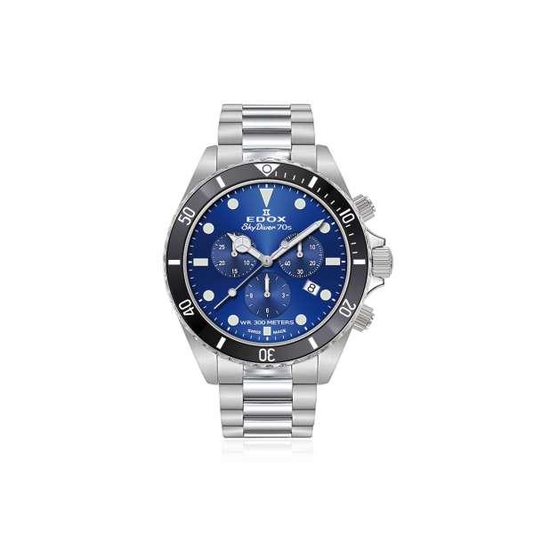 Armbanduhr Sky Diver Chronograph blau