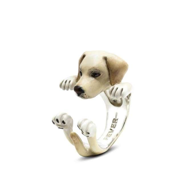 Ring Labrador Retriever Sterlingsilber 925 S