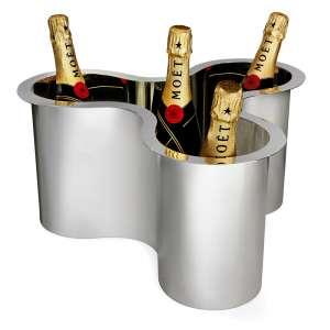 Schale/Champagnerkühler versilbert