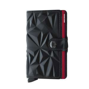 Miniwallet Prism black/red
