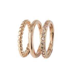 Ring Bronze plattiert