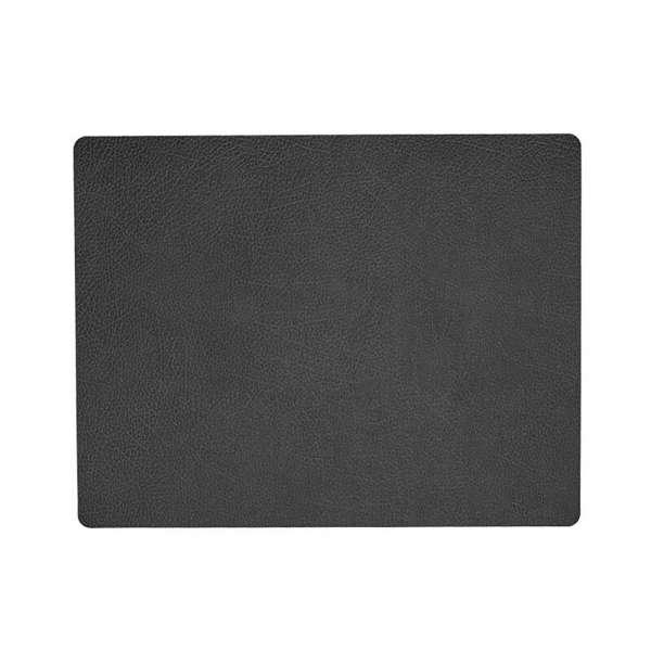 Tischset 35x45 cm Hippo schwarz-anthrazit