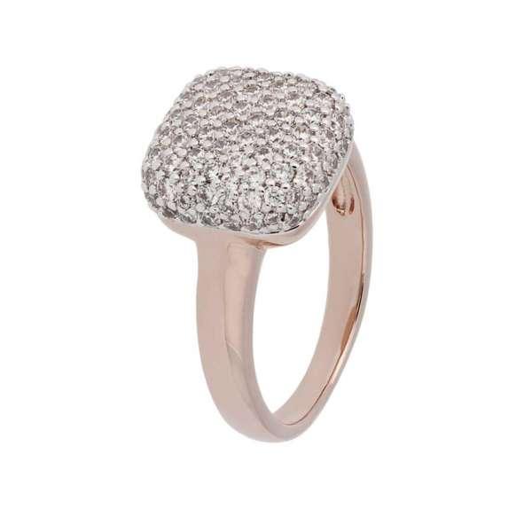 Ring Zirkonia Bronze plattiert