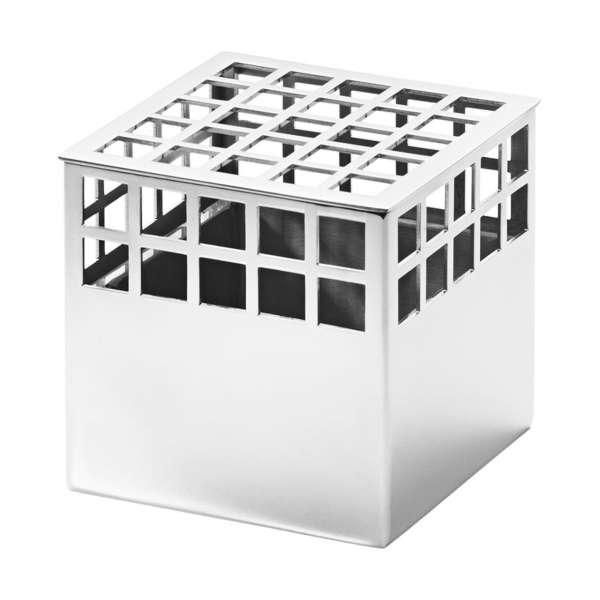 Vase Cube 7,2 cm Edelstahl