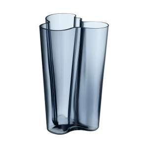 Vase 25,1 cm regenblau