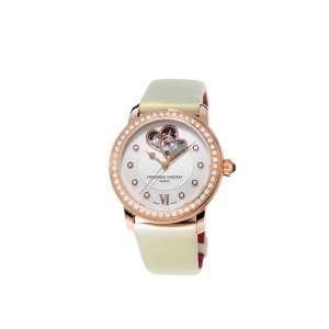 Armbanduhr Ladies Automatik 56 Diamanten zus. 0,82 ct Edelstahl RGP