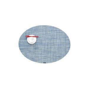 Tischset oval 36x49 cm chambray