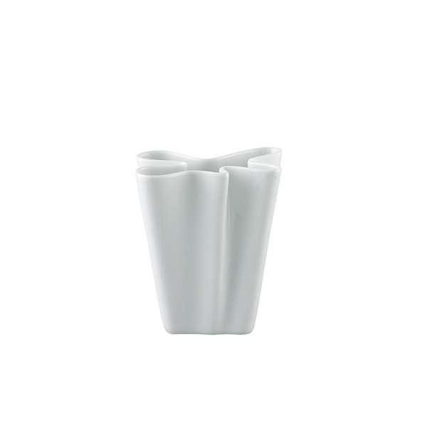 Vase 14 cm weiß