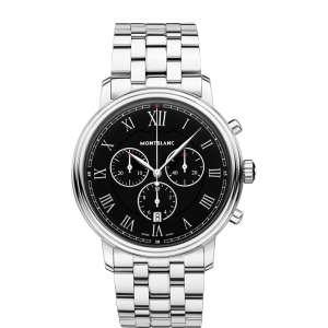 Armbanduhr Quarz Chronograph Edelstahl