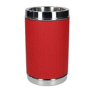 Flaschenkühler Bellagio rot, Naht rot