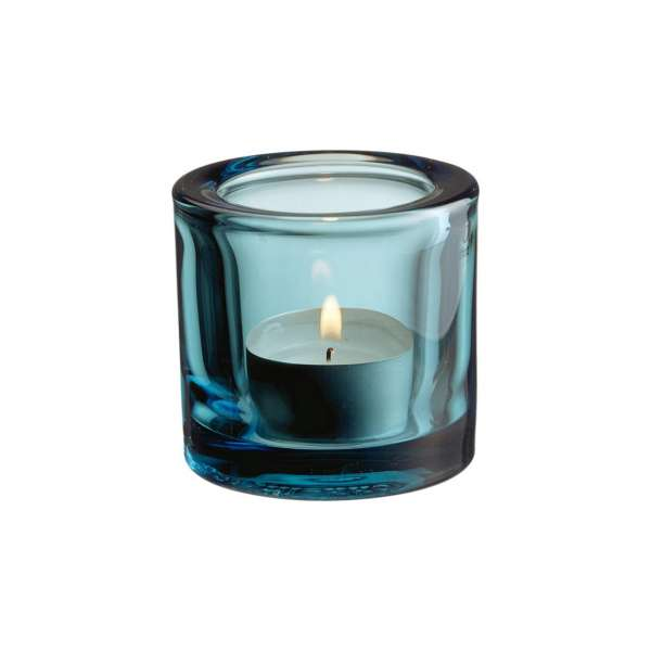 Windlicht 6 cm seeblau