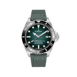Armbanduhr SkyDiver Military grün Automatik Limitiert