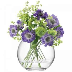 Vase 16 cm klar