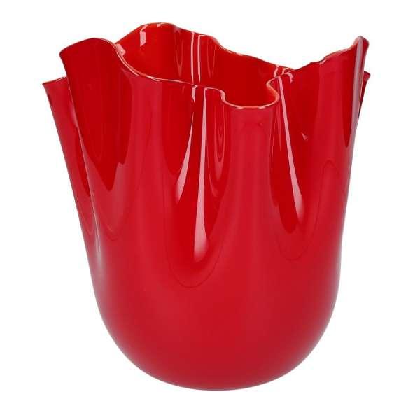 Vase 24 cm rot