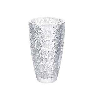 Vase Feuillage 38 cm klar