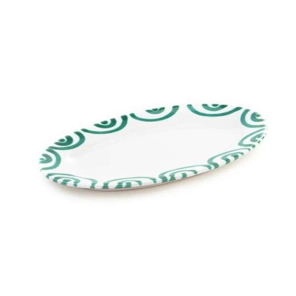 Platte oval 21 cm / Saucieren-Untere