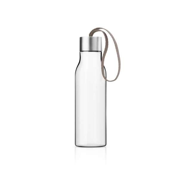 Trinkflasche 0,50 l warm grey