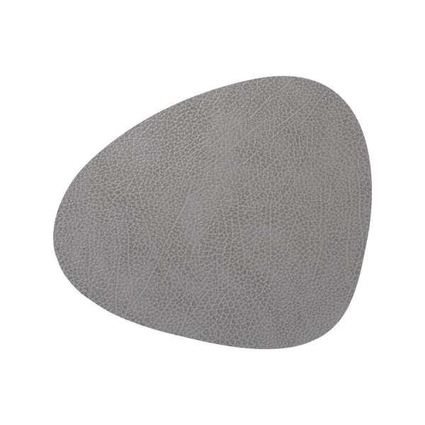 Tischset 37x44 cm Hippo anthrazit-grau
