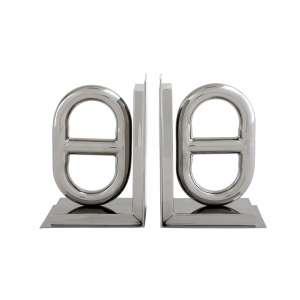 Buchstütze (2 Stück) Nevis Edelstahl
