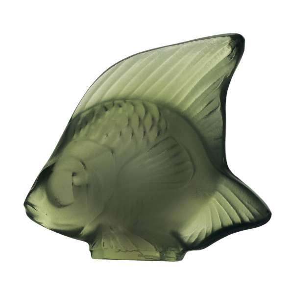Fisch dunkelgrün 'Poisson'