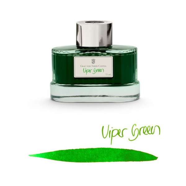 Tintenglas 75 ml Viper Green