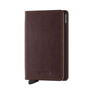 Slimwallet Vegetable Tanned espresso/brown