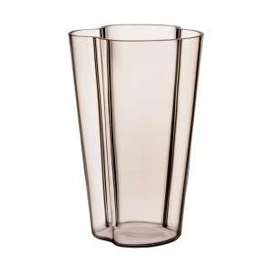 Vase 22 cm leinen