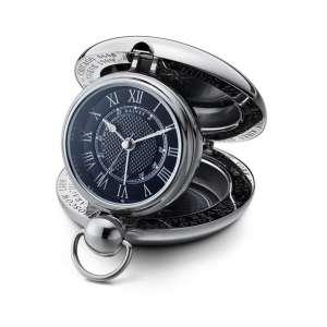 Voyager Uhr schwarz