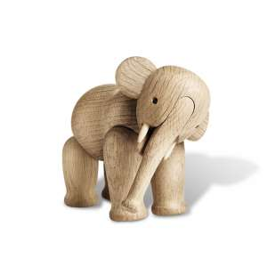 Elefant 12,6 cm Eiche
