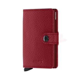 Miniwallet Vegetable Tanned rosso/bordeaux