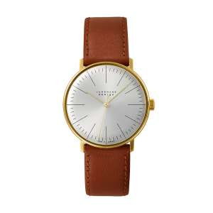 Armbanduhr Max Bill Handaufzug PVD