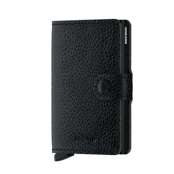 Miniwallet Vegetable Tanned black/black