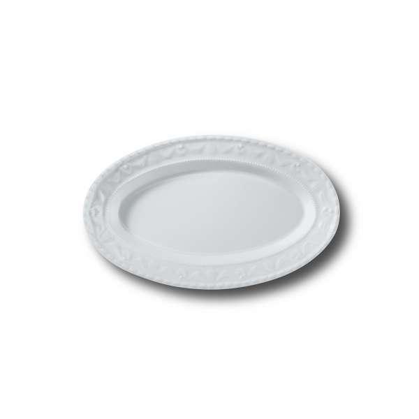Saucieren-Untere/Gurkenschale oval 24,5 cm