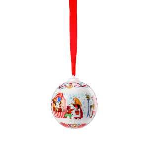 Porzellankugel 2019 Weihnachtsmarkt