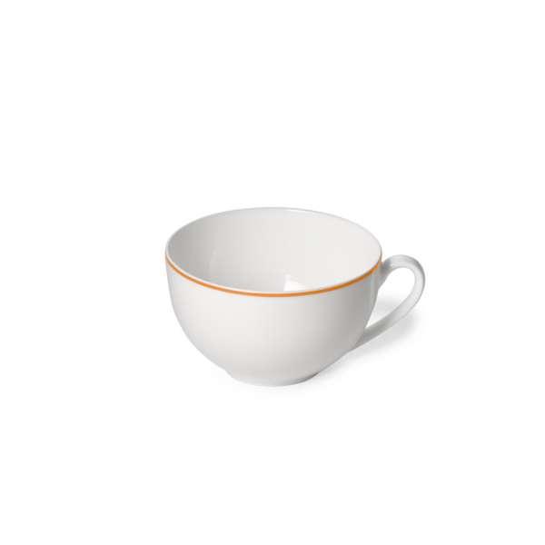 Kaffee-Obere rund 0,25 l orange