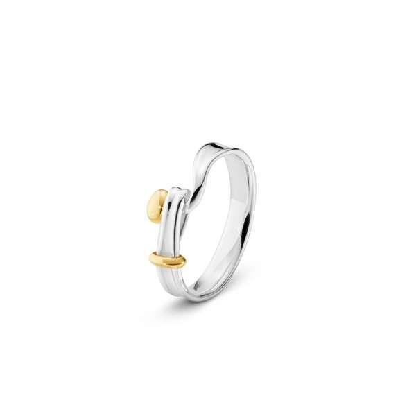 Ring W54 Sterlingsilber 925 Gelbgold 750