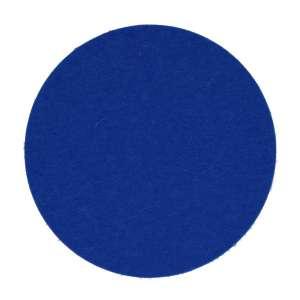 Untersetzer rund 12 cm blau 10