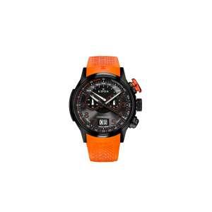 Armbanduhr Chronorally Chronograph orange