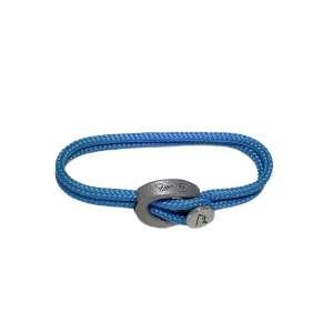 Armband Azur Blue Humanium Metal M