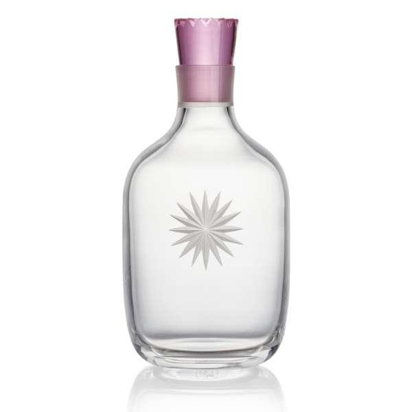 Glasflasche 1,1 l pink