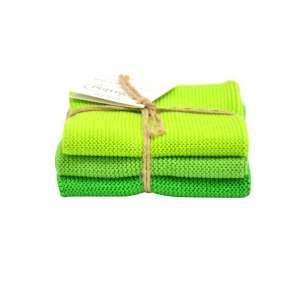 Wischtücher (3 Stk.) frisches grün Kombi