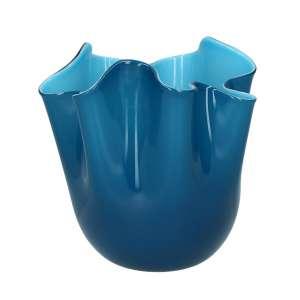 Vase 13,5 cm indigo/aquamarin