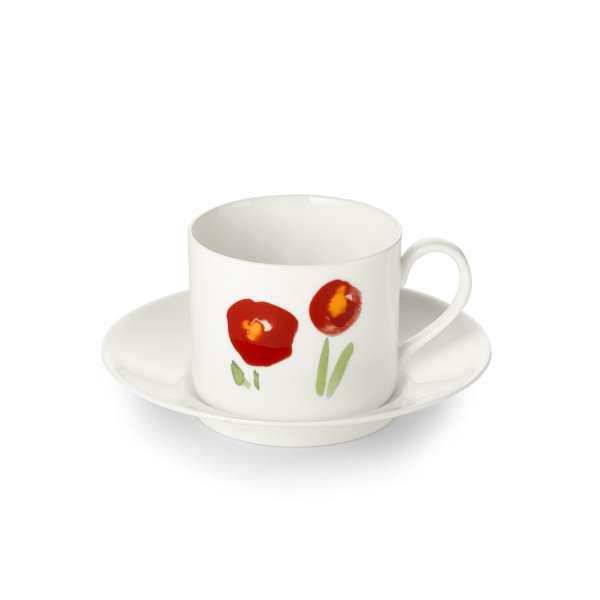 Kaffeetasse m. U. zyl. 0,25 l Mohn
